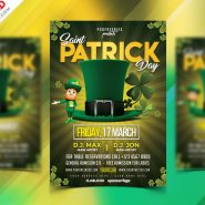 Saint Patrick's Day Flyer Design Free PSD