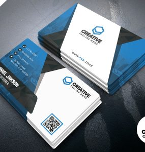 Business Card Design PSD Templates