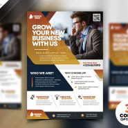 Creative Business Flyer Design PSD