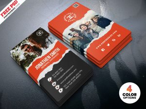 Fashion Store Business Card PSD