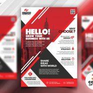PSD Corporate Flyer Design Templates