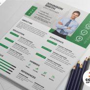 Designer Resume CV PSD Templates