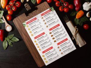 Restaurant Food Menu Flyer PSD Template