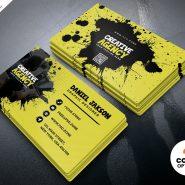 Agency Business Card Design PSD