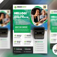 Creative Corporate Flyer Template PSD