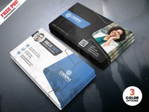 Modern Business Card Design PSD