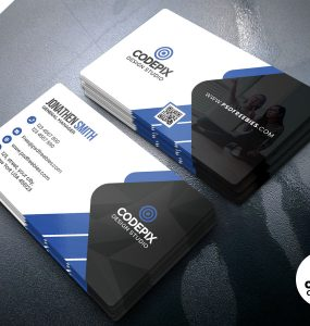Premium Creative Business Card PSD