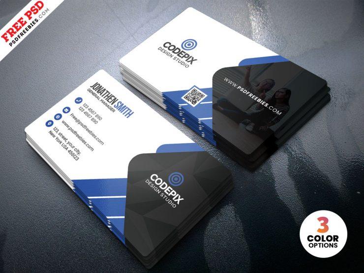 Premium Creative Business Card PSD