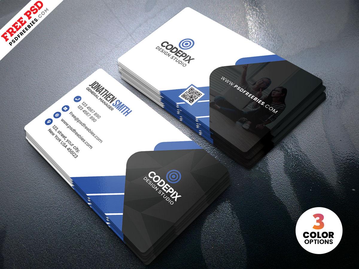 Premium Creative Business Card PSD – PSDFreebies.com Regarding Creative Business Card Templates Psd