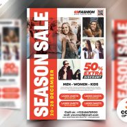 Season Fashion Sale Flyer PSD