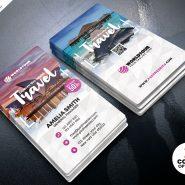 Travel Agency Business Card PSD