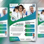 Medical Health Care Flyer PSD