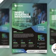 Latest Corporate Flyer Design PSD