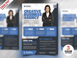 Professional Business Flyer PSD