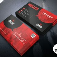 Designer Business Card Design PSD