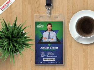Designer Corporate Identity Card PSD