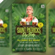 Saint Patrick's Day Celebration Flyer PSD