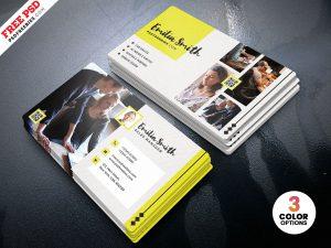Creative Freelancer Business Card PSD