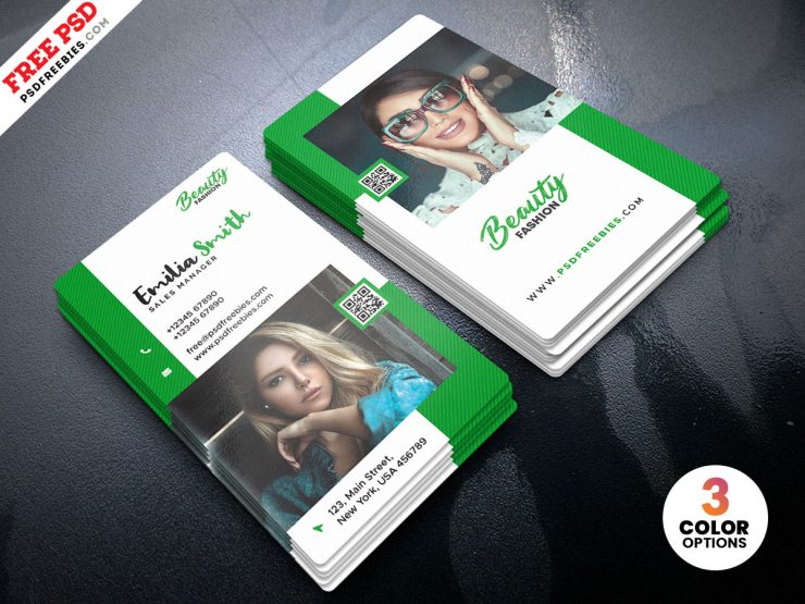 Fashion Boutique Store Business Card PSD