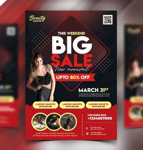 Special Offer Sale Flyer PSD