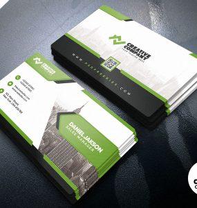 Designer Business Card PSD Template