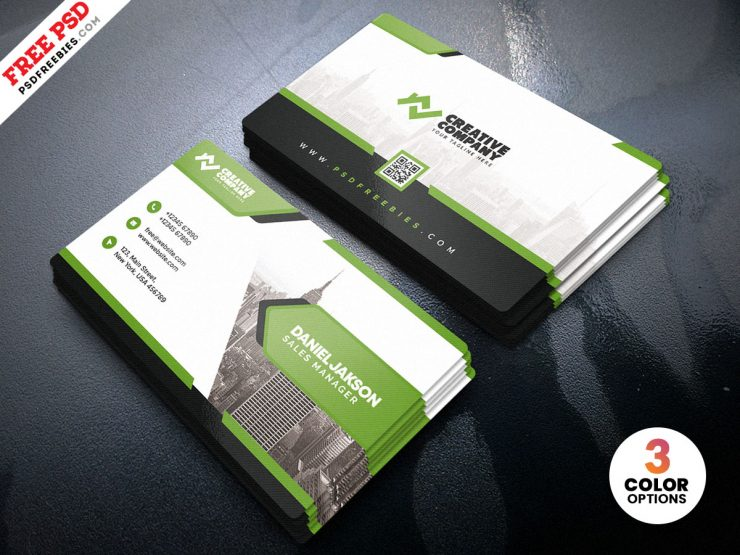 Designer Business Card PSD Template