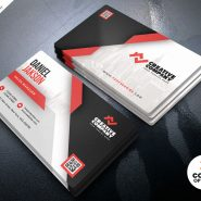 Creative Business Card PSD Design Template