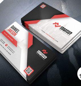 Creative Business Card PSD Design Template