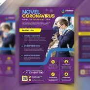 Health Care Services Flyer PSD