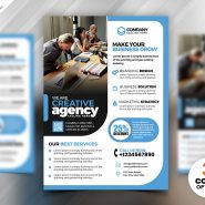 Professional Business Marketing Flyer PSD