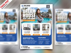 Real Estate Business Flyer PSD