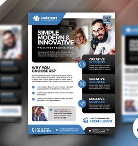 Corporate Business Flyer PSD Bundle