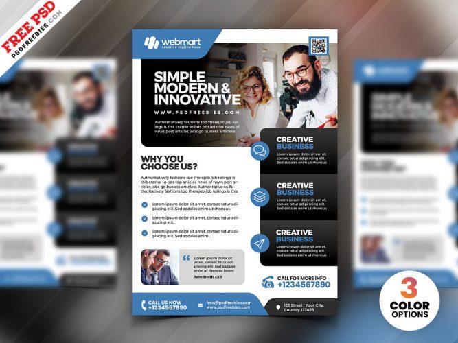 Corporate Business Flyer PSD Bundle