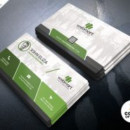 Elegant Corporate Business Card PSD
