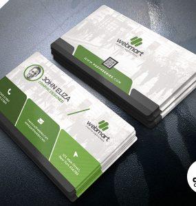 Elegant Corporate Business Card PSD