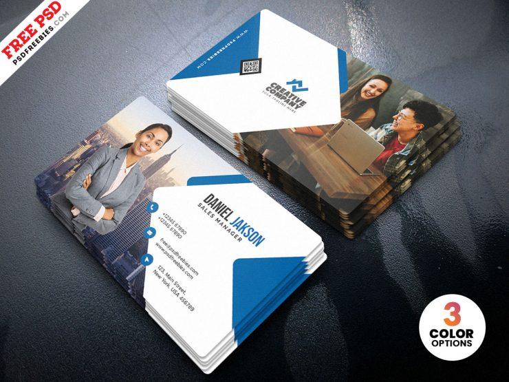 Multipurpose Corporate Business Card PSD
