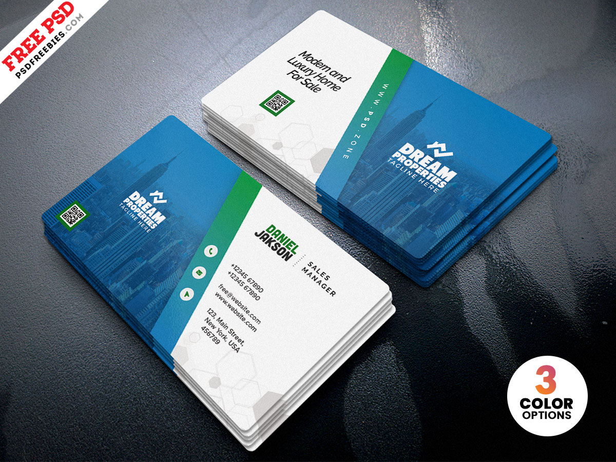 Professional Business Card PSD Template – PSDFreebies.com Within Visiting Card Psd Template Free Download