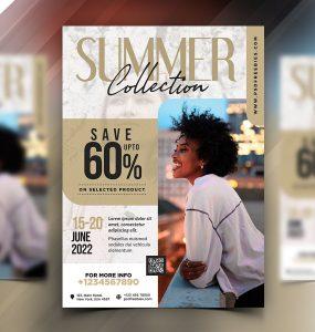 Season Fashion Sale Flyer PSD Template