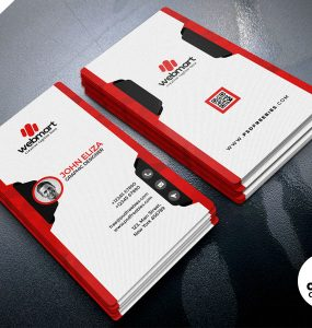 Simple and Clean Business Card Design PSD
