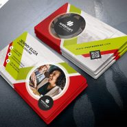 Corporate Design Business Card PSD