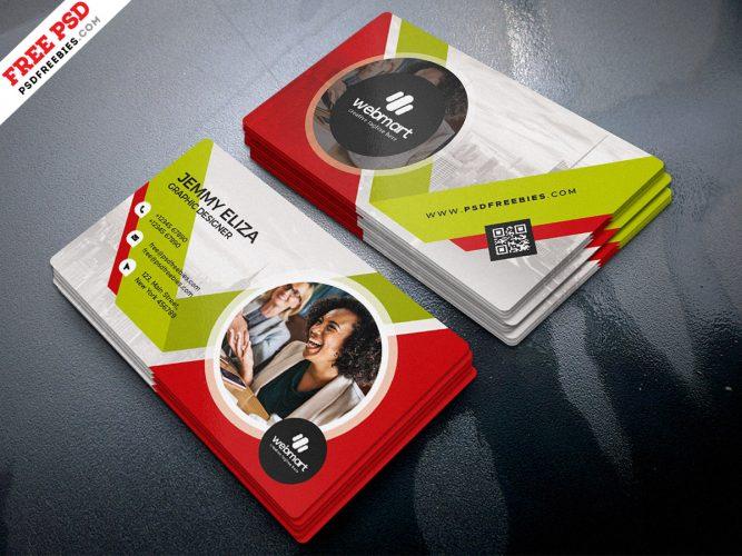 Corporate Design Business Card PSD