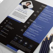 Designer Resume CV Design PSD Bundle