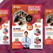 Business Seminar Promotion Flyer PSD Template