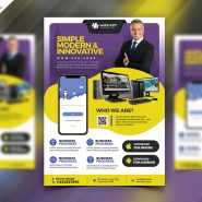 Multipurpose Business Promotion Flyer PSD