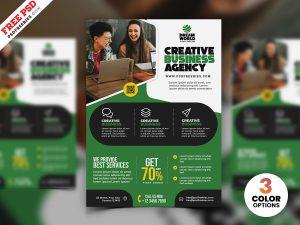 Business Advertisement Creative Flyer PSD
