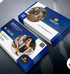 Free Designer Business Card Template PSD