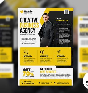 Multipurpose Business Advertisement Flyer PSD