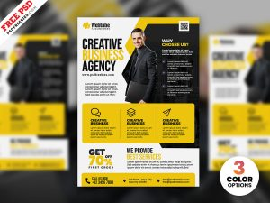 Multipurpose Business Advertisement Flyer PSD