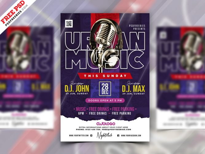 Urban-Music-Party-Flyer-PSD-Template