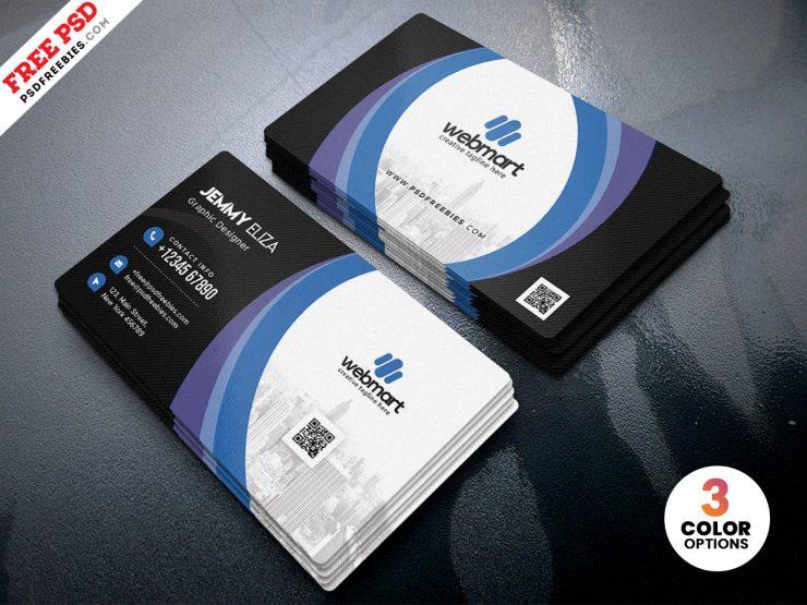 Latest Corporate Business Card Design PSD